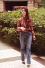 Hk-vintage-top-m-s-wide-leg-pants