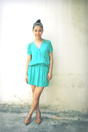 aquamarine Petit Monde dress