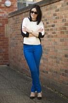 Zara heels - Vero Moda jeans - Zara jumper