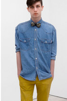 jeans Esprit shirt - yellow chinos H&M pants
