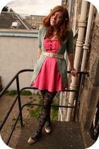 pink Little Miss Sew dress