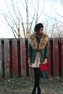 Utility-urban-outfitters-jacket-pink-bcbg-skirt-nude-zara-blouse