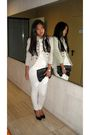 Beige-zara-jacket-beige-ralph-lauren-shirt-white-stradivarius-pants-black-