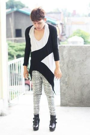 Kawaii top - custom made pants - Summersault wedges