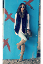 t by alexander wang sweater - free people sweater - sam edelman boots