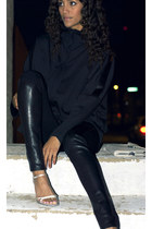 calvin klein shoes - nino brand jacket - Helmut Lang leggings