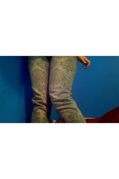 skinny denim twentyone black pants