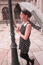 River Island dress - Moschino belt - Pretty Ballerinas flats - Primark earrings