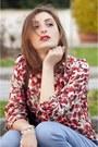 Zara-blouse-dondup-pants