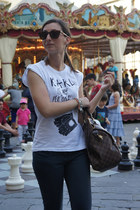 Superga sneakers - Betty Blue jeans - happiness shirt - Louis Vuitton bag