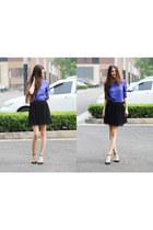 black Miss Selfridge skirt