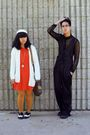 Black-jumper-orange-dress-gold-tights-white-cardigan-black-h-m-shirt-b