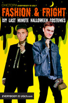 Fashion & Fright: DIY Last Minute Halloween Costumes
