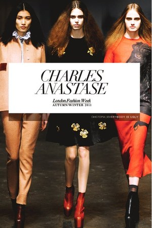 black charles anastase dress