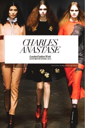 black charles anastase dress