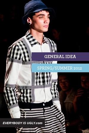 black General Idea shirt