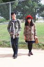 Camel-leopard-h-m-coat-navy-levis-jeans-red-hat-army-green-urban-outfitter