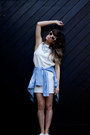 Violet-h-m-dress-black-karimba-sunglasses-aquamarine-primark-necklace