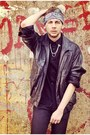 Black-zara-shoes-black-zara-jeans-black-vintage-store-jacket
