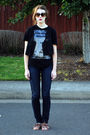 Blue-postage-jeans-brown-urbanoutfitters-shoes-black-zara-t-shirt-black-ki