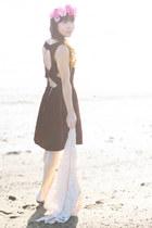 crimson Rehab dress
