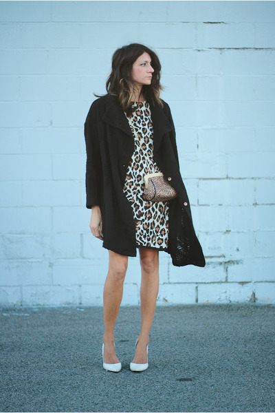 leopard print PERSUNMALL dress - vintage sweater