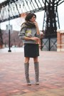 Heather-gray-brian-atwood-boots-heather-gray-vintage-sweater