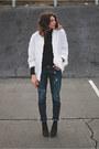 Paige-jeans-white-vintage-jacket
