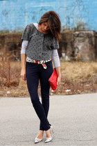 Anthropologie sweater - H&M pants