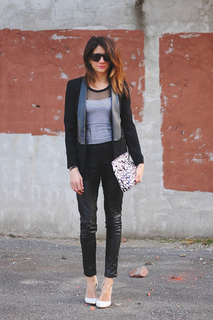 black warehouse blazer - black warehouse pants