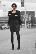 navy rag & bone skirt