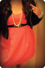 Pink-forever-21-dress-black-h-m-jacket-black-kenneth-cole-accessories-blac