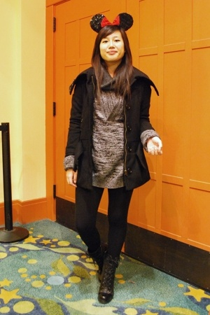 H&M sweater - H&M sweater - H&M coat - Chinese Laundry - Guess boots -