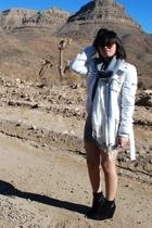 H&M sweater - H&M scarf - H&M coat - H&M - H&M sunglasses