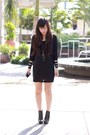 Black-kain-label-dress-black-sam-edelman-boots