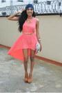 Coral-dress