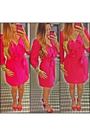 Forever21 dress - Zara heels