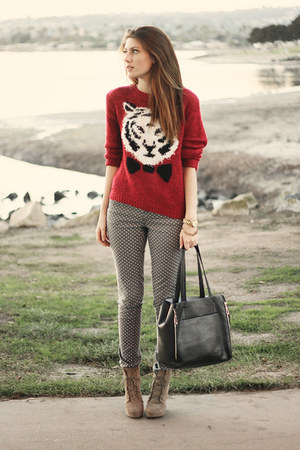 red Urban Outfitters sweater