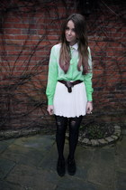 lime green asos shirt