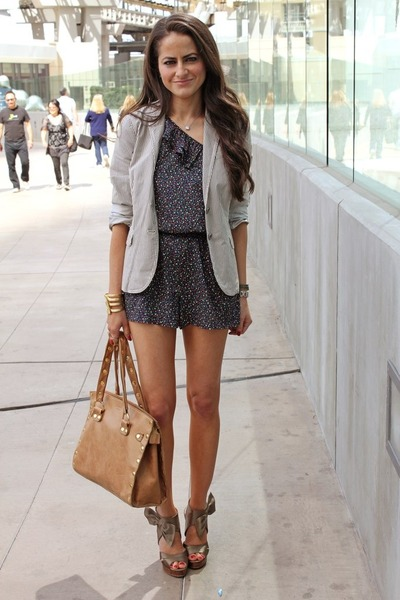 blazer and rompers