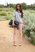JBrand jeans - Prada bag - f21 sweatshirt