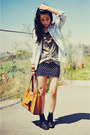 Black-lace-up-forever-21-shoes-light-blue-denim-gap-jacket-olive-green-vinta