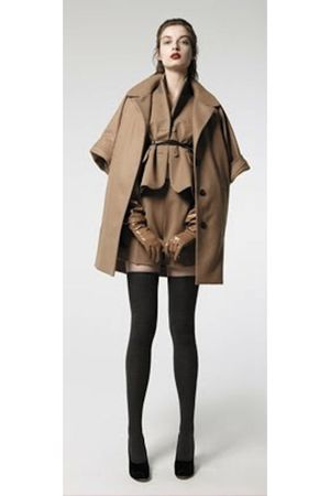 brown Carven coat