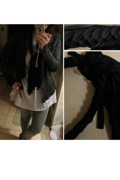 Kate Moss for Topshop jacket - Ka Pow Wow accessories - Zara top - sass & bide j
