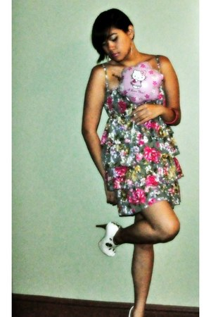 dress - baby phat heels