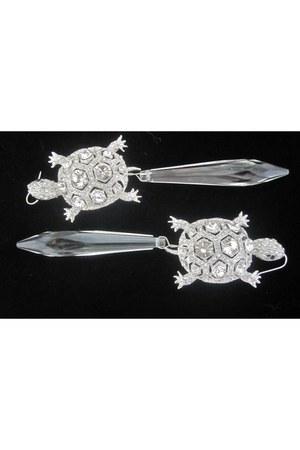 silver Jean Joaillerie earrings