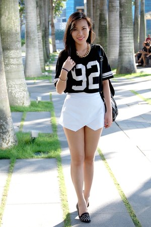 white origami skort Apartment 8 Clothing shorts
