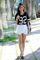 white origami skort Apartment 8 Clothing shorts