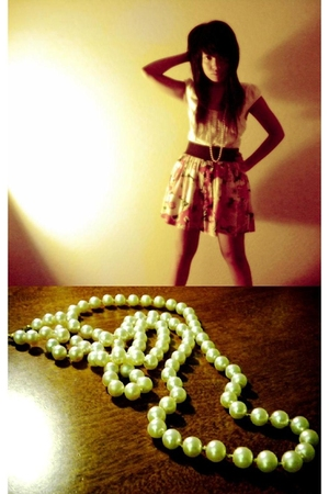 top - Forever21 skirt - necklace