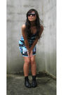 Black-metropark-sunglasses-blue-h-m-dress-black-we-who-see-shoes